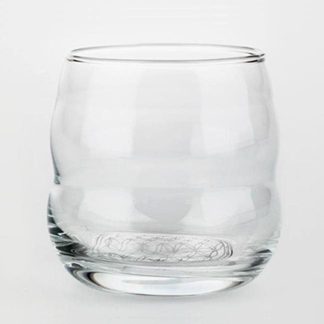 Joogiklaas Müüt valge Elulille sümboliga 0,25 l