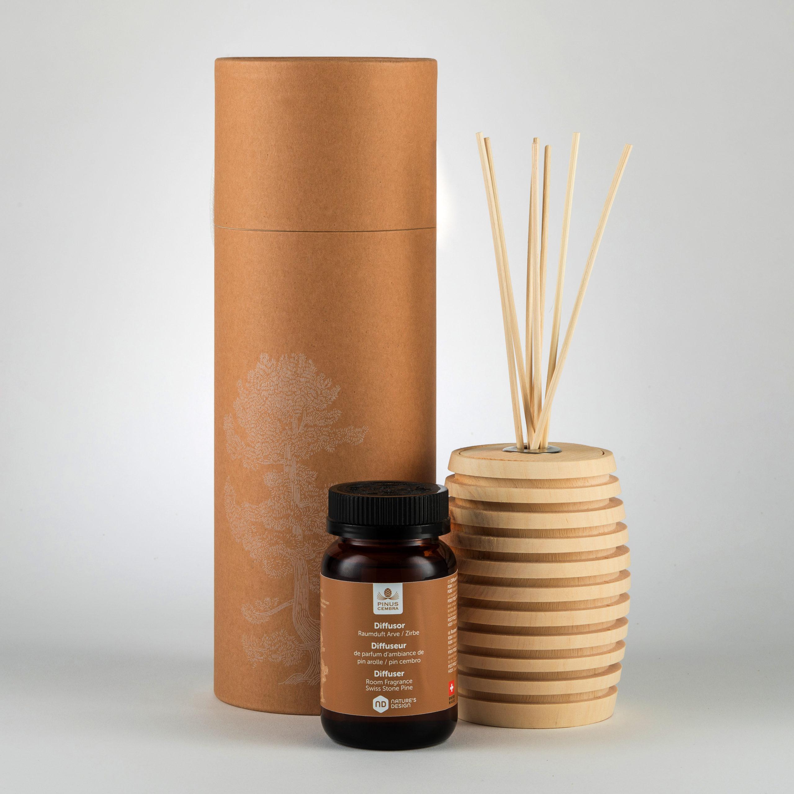 Pinus Cembra lõnapulkade komplekt ja -õli (10ml)