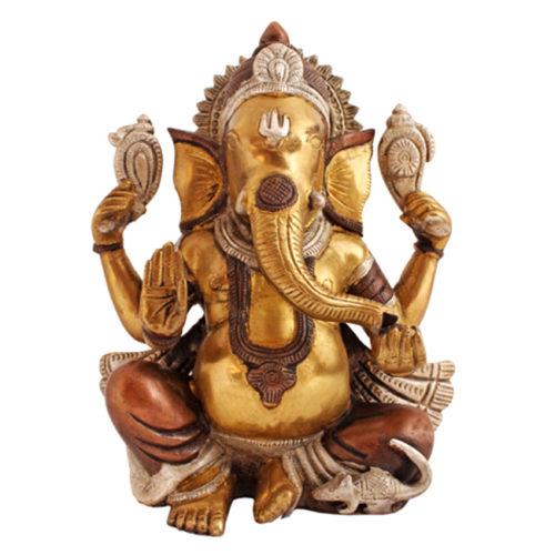 Ganesha kujud eri suurused