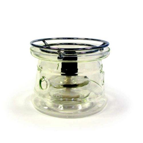 Klaasist teekann 1.2l klaassõelaga ja teesoojendaja